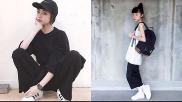 【潮妹一週間】酷酷美少女李柔 教妳怎麼穿出「非黑即白」的甜美風格!