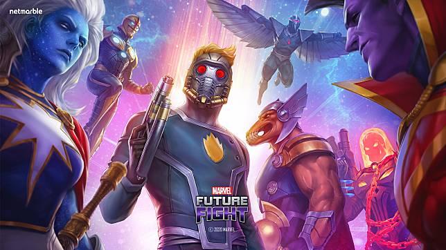 Para Anggota Guardians of the Galaxy Baru Saja Mendarat di Game Marvel Future Fight