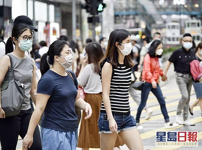 余德新又指,空氣可傳播病毒並不意味市民防不勝防。資料圖片