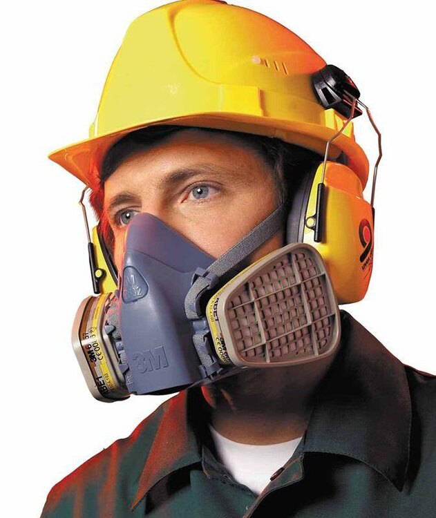 3M防毒面具7502防塵口罩