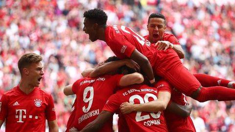 Hancurkan Eintracht, Bayern Munchen Juara Bundesliga
