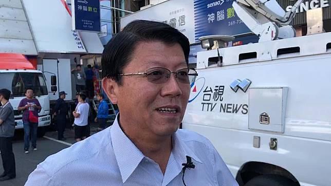 謝龍介說,若蔡賴配成形,希望賴清德勸勸蔡英文,勿動用國家機器對付韓國瑜。