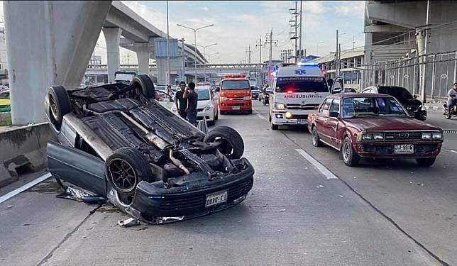 อุบัติเหตุ ! บนถนนกาญจนภิเษก