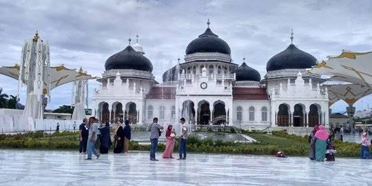 Masjid Baiturrahman Aceh. ©2017 Merdeka.com