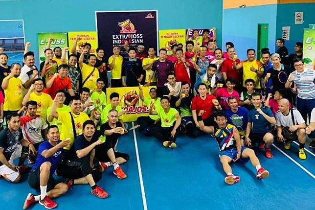 WNI di Kuala Lumpur gelar turnamen bulutangkis usai Pilpres