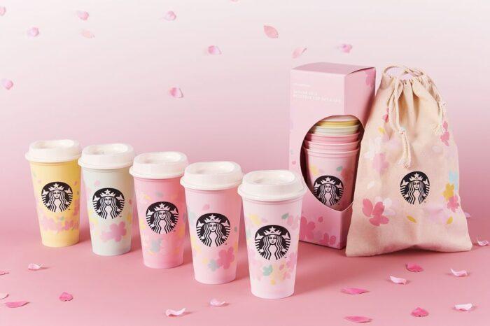 日本星巴克櫻花系列第1彈_重複使用飲料杯