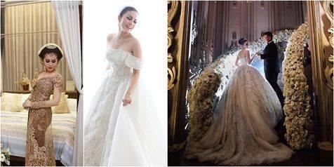 Gaun Gaun Pernikahan Momo Geisha Karya Desainer Tenar Indonesia