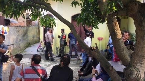 Polisi Periksa Rumah Penusuk Wiranto di Medan