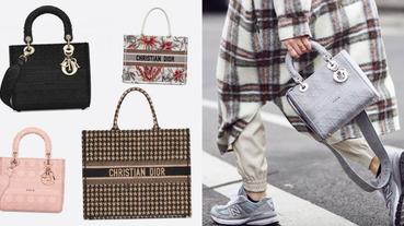 Dior 手袋 2020 10 款人氣推薦:亞麻霧灰籐格紋、溫柔裸粉 Lady D-Lite 及米奶茶色 Book Tote 必入手!