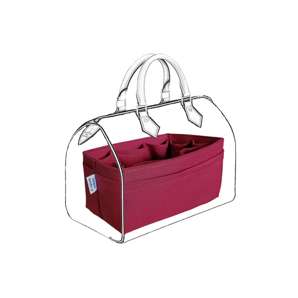 coolgdesign名牌包收納袋中袋 lv speedy 30 專用包中包 袋中袋收納包平面款的優點是內層有八格收納格外層有五格平面收納袋中間還有超大收納空間外平面的設計讓在意包包外型的朋友將會沉浸