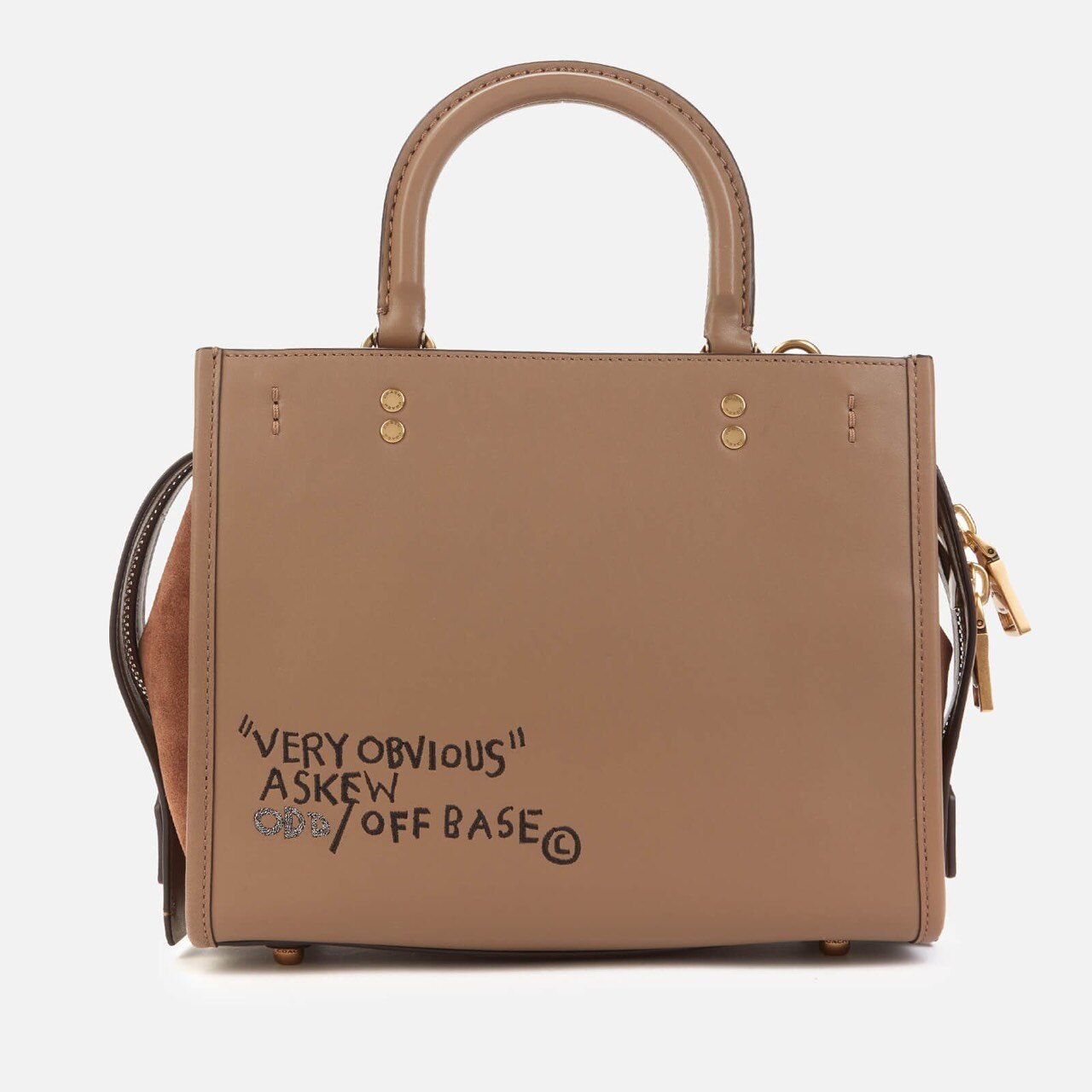 Coach X Basquiat Rogue Bag 25側背包 台灣售價37800 限時折扣$25800/