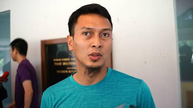 Pebulutangkis spesialis ganda putra Indonesia, Mohammad Ahsan. [NONTONGP.COM/Arief Apriadi]