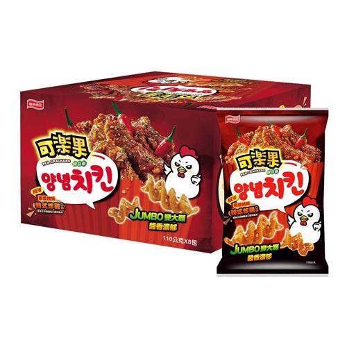 可樂果韓式炸雞口味 110公克 X 8包