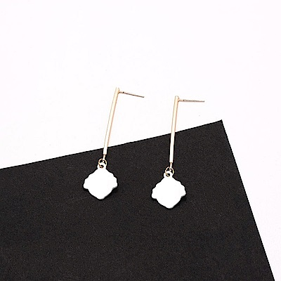 Hera 赫拉 韓款925銀韓劇她的私生活貝殼造型耳針/耳環