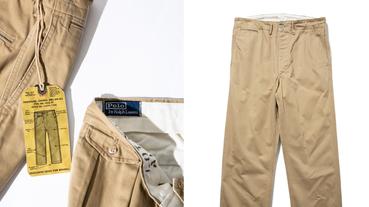 汲取美式復古電影為靈感,「BEAMS PLUS x POLO RALPH LAUREN」推出 20 週年聯乘褲款