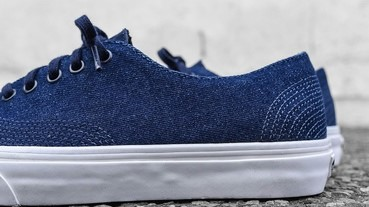 Vans 推出極簡丹寧 Authentic 鞋款