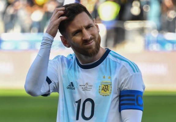 Messi Terancam Sanksi Larangan Bermain  Selama 2 Tahun