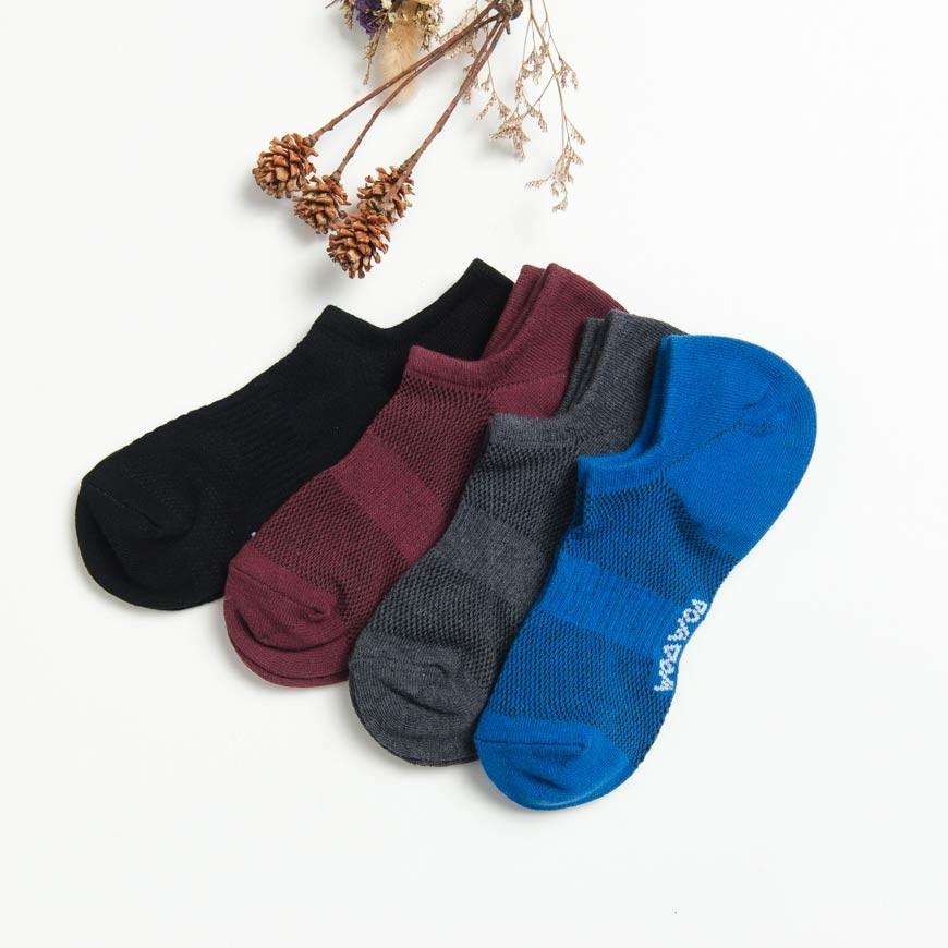 襪襪 WOAWOA|運動好朋友 一起運動吧 www.woawoa.com.tw **限時活動**只限今天 立即搶購吧 網眼 直角淺口襪|裸襪 成份:棉75% 尼龍15% 彈性纖維10% 成份:萊卡橡膠