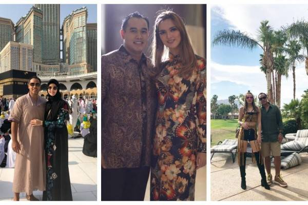 Bak Pengantin Baru, 10 Potret Romantis Nia Ramadhani & Ardi Bakrie