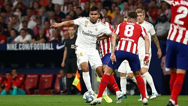 Ditahan Atletico 0-0 Madrid Masih Tak Terkalahkan di Liga Spanyol