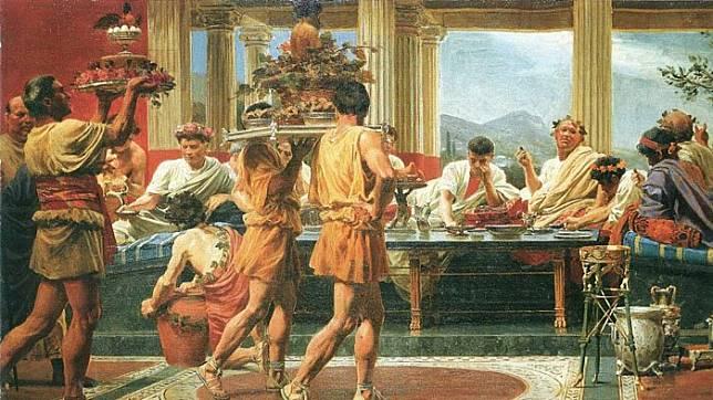 7 Makanan Aneh tapi Populer Pada Masa Romawi Kuno, Ada Lidah Burung Merak sampai Jeroan Ikan