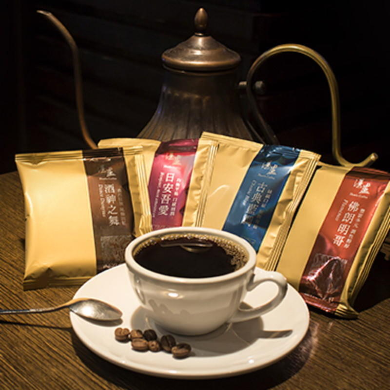 湛盧咖啡~濾沖式掛耳咖啡包