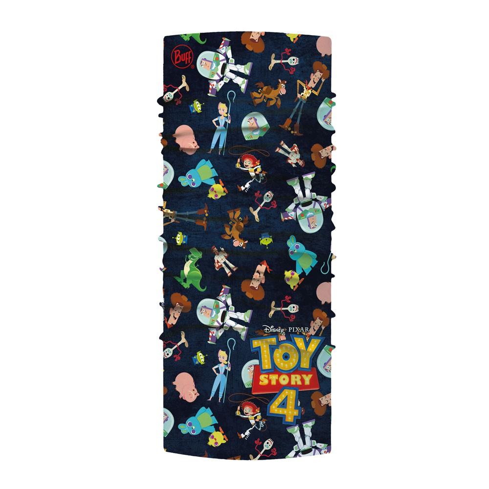 兒童玩具總動員4-經典頭巾 Plus-好友團聚 四向彈性:全新科技纖維,四向彈性高延展,貼合面部線條,活動不滑脫。 UPF50+ 織品防曬係數,阻絕約 98% 紫外線。 濕氣控管佳:極速快乾,吸濕排汗