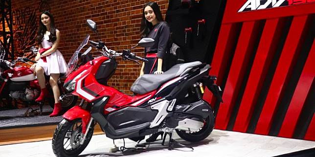 Honda ADV150 (Otosia.com/Cornelius Candra)