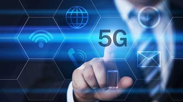 Ilustrasi jaringan 5G. (Shutterstock)