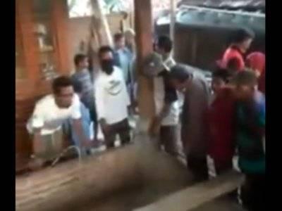 Begini Penampakan Rumah di Ngawi yang Viral karena Dipindahkan Dalam Waktu Semalam