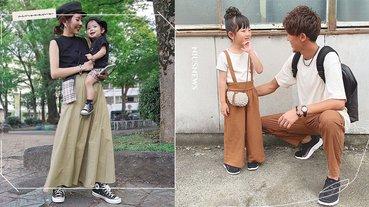 從配件、顏色、主題就能穿出有創意的質感親子裝!5個親子穿搭的IG媽媽們快追蹤