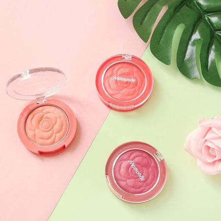 韓國熱銷霧感腮紅 風靡韓妞SNS的經典系列n柔霧妝感 不敗的沙漠乾燥玫瑰色