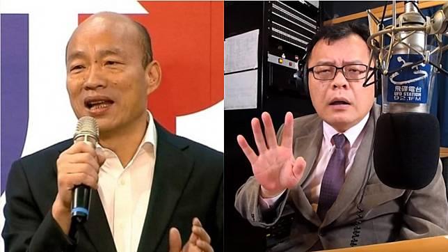 陳揮文表示選舉過後三個月,仍有韓粉狂纏他認為蔡總統作票。(圖/資料照片、翻攝飛碟聯播網YouTube)
