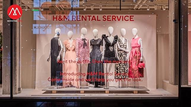 H&M เริ่มทดลองบริการ 'ให้เช่าชุด' หวังช่วยแก้ปัญหาสิ่งแวดล้อม