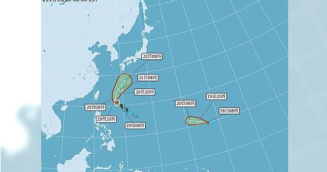 又有新颱「雷馬遜」將生成  預測路徑恐直撲台灣