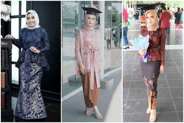 12 Inspirasi Kebaya Hijab Kekinian Untuk Acara Wisuda Pilih Mana