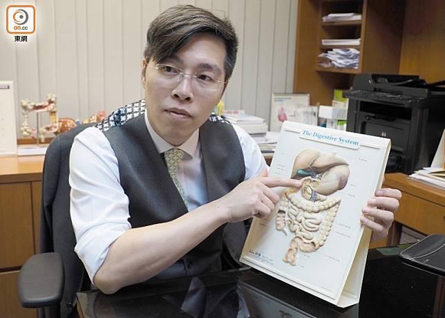 姚志謙指大腸桿菌及金黃葡萄球菌均有機會引致急性腸胃炎。