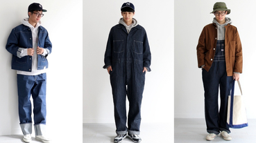 日本的店員的「丹寧穿搭」,學起來讓你怎麼搭都不失誤