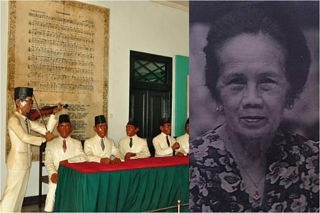 Dolly Salim jadi pelantun Indonesia Raya saat Kongres Pemuda II