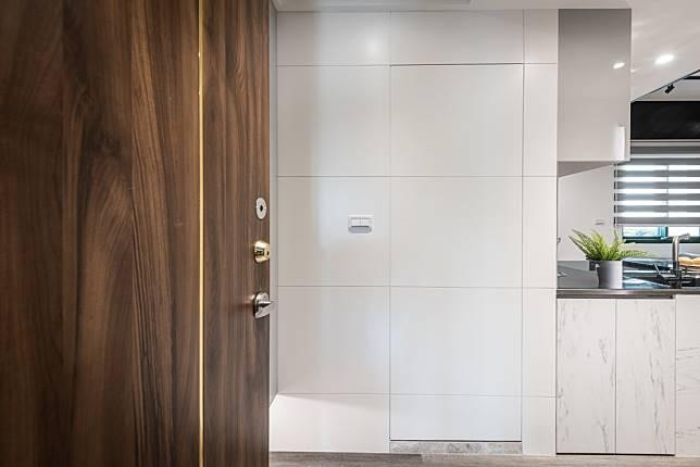 3. 貼心的隱藏門設計