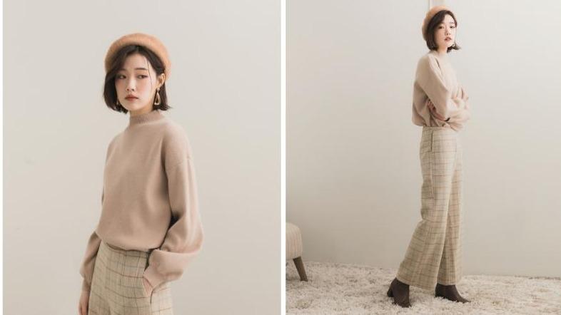 穿出秋冬最夯的「豆沙奶茶色」!讓女孩心癢癢的質感冬裝