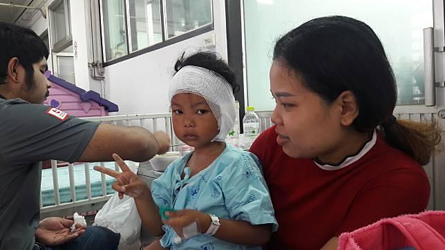เขี่ยวโหดกัดเด็ก4ขวบหูแหว่งปลอดภัยแล้ว