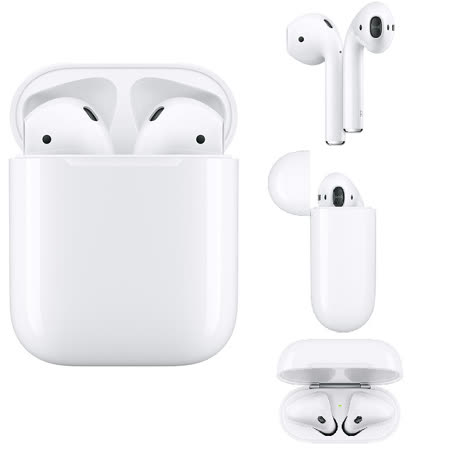 Apple原廠 AirPods 耳機-搭配有線充電盒(2019)_MV7N2TA/A