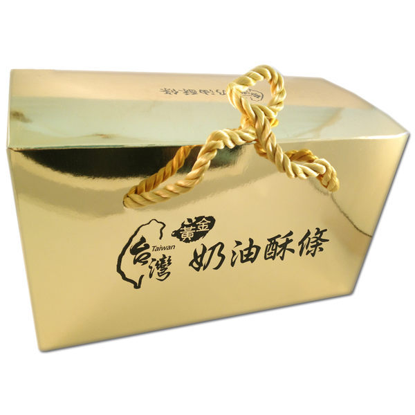 金裝禮盒 黃金奶油酥條 (2入/盒) 花蓮必吃名產 手工製作古早味   OS小舖
