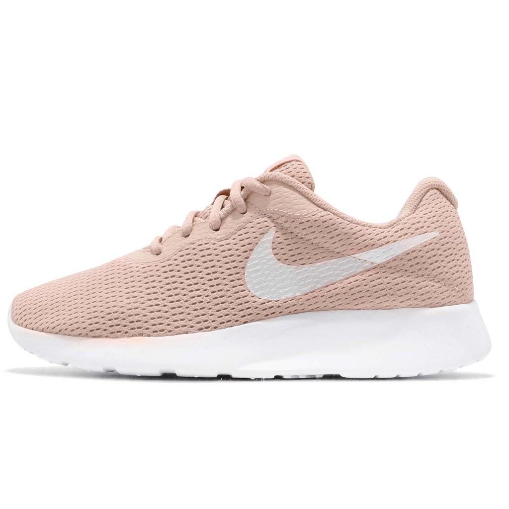 Nike 休閒鞋 Wmns Tanjun 米白 白 女鞋 奶茶色 慢跑鞋 運動鞋 812655-202 【ACS】