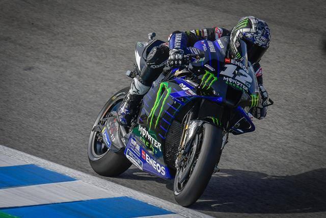 Maverick Vinales Tetap Senang, meski Hanya Start dari Posisi 7 di Jerez