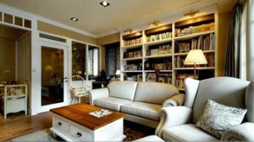 書櫃設計有一套,我家也有藏書閣!