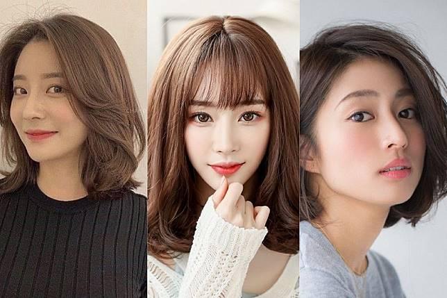 8 Model Rambut Ala Korea Yang Bagus Untuk Perempuan Wajah Kotak Womantalk Com Line Today