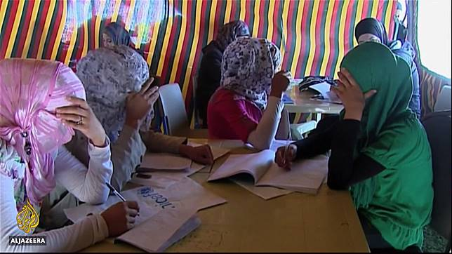Perang Suriah telah menciptakan pusaran pernikahan dini.