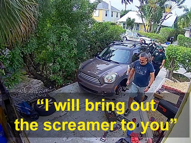 鄰居聽到「讓我出去」慘叫聲急報警 見「真兇」後警笑翻!
